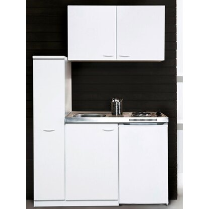 Respekta minikuche mk130wos 130 cm weiss kaufen bei obi for Respekta miniküche