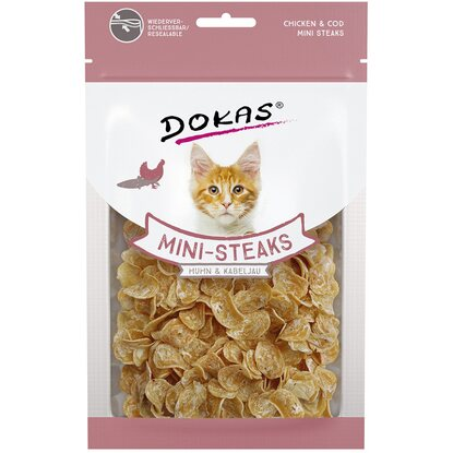 Dokas Mini-Steaks Huhn/ Kabel 40 g