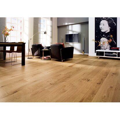 klick parkett eiche landhausdiele ge lt kaufen bei obi. Black Bedroom Furniture Sets. Home Design Ideas