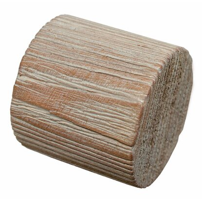 Gardinia Holz-Endkappe Country Ø 25 mm Castell Eiche 2-er Pack