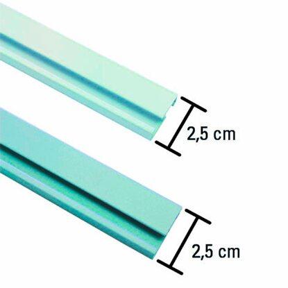 gardinia aluminium vorhangschiene 1 l ufig wei 150 cm kaufen bei obi. Black Bedroom Furniture Sets. Home Design Ideas