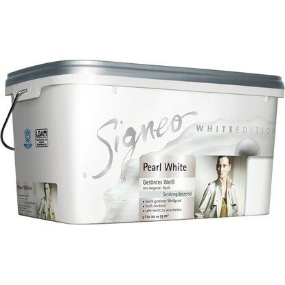 signeo white edition pearl white 5 l kaufen bei obi. Black Bedroom Furniture Sets. Home Design Ideas
