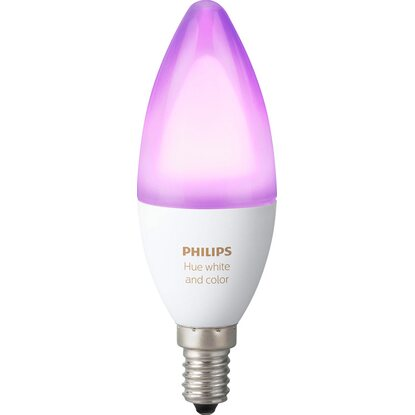 Philips Hue LED-Kerze White and Color Ambiance E14 / 6 W, 470 lm EEK: A+