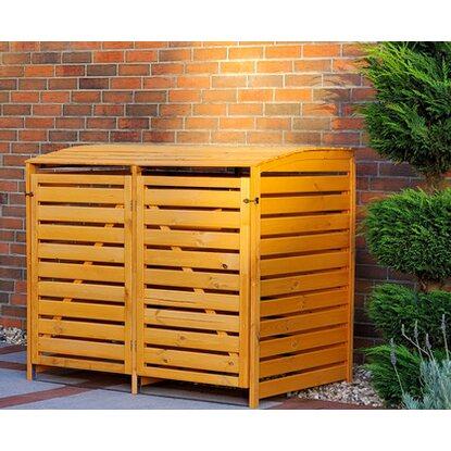 m lltonnenbox vario iii f r 2 tonnen honigfarben kaufen bei obi. Black Bedroom Furniture Sets. Home Design Ideas