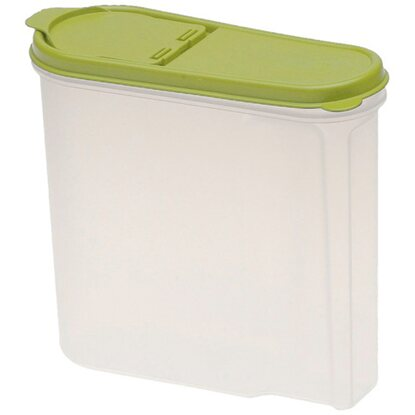 Müslibox Jean Grün-Transparent 1,25 l