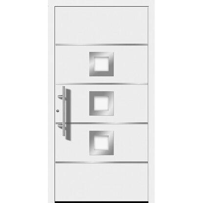 aluminium haust r moderno m390 p 110 x 210 cm wei anschlag links kaufen bei obi. Black Bedroom Furniture Sets. Home Design Ideas