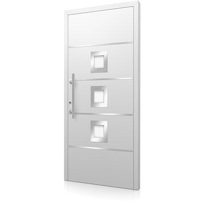 aluminium haust r moderno m390 p 110 x 210 cm wei. Black Bedroom Furniture Sets. Home Design Ideas