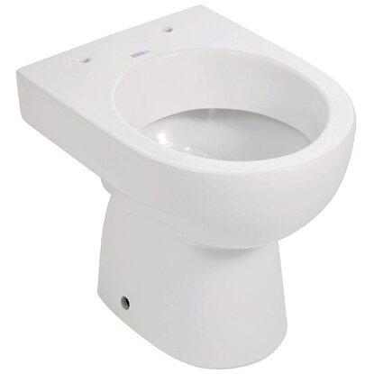 keramag stand wc renova neu plan tiefsp ler abgang waagerecht wei kaufen bei obi. Black Bedroom Furniture Sets. Home Design Ideas