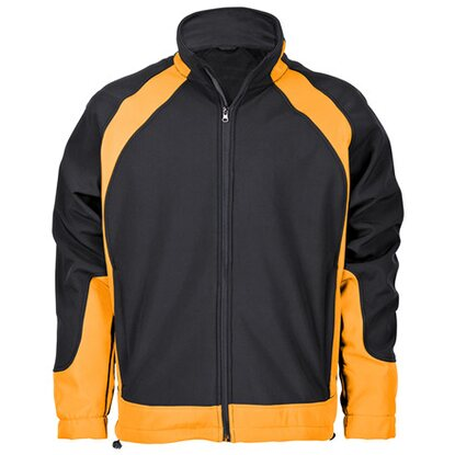 Softshelljacke Solution Schwarz-Orange Gr. XXL
