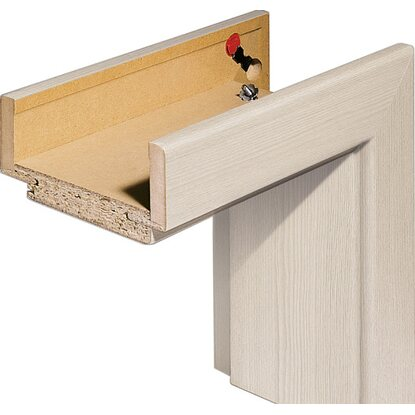zarge cpl l rche cashmere senkrecht 73 5 cm x 198 5 cm x 14 cm anschlag rechts kaufen bei obi. Black Bedroom Furniture Sets. Home Design Ideas