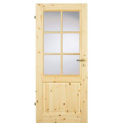 zimmert r landhaus kiefer la sprossenrahmen 73 5 cm x 198 5 cm anschlag links kaufen bei obi. Black Bedroom Furniture Sets. Home Design Ideas