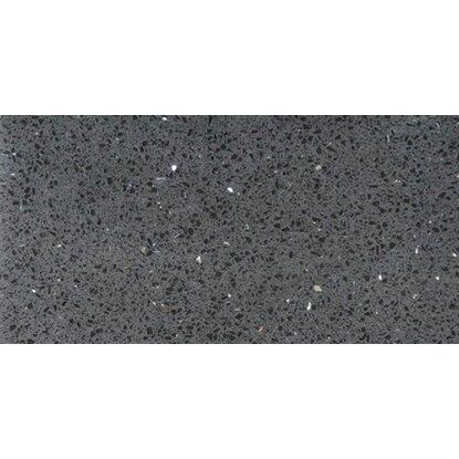 Bodenfliese Quarzkomposit Schwarz 30 cm x 60 cm kaufen bei OBI