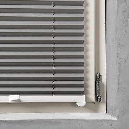 cocoon easy fix thermo plissee verdunklung grau 60 cm x 130 cm kaufen bei obi. Black Bedroom Furniture Sets. Home Design Ideas