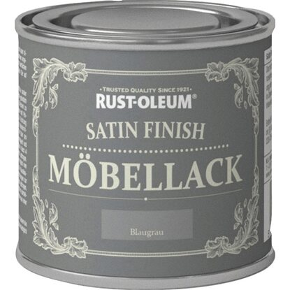 rust oleum kreidefarbe m bellack satin finish blaugrau. Black Bedroom Furniture Sets. Home Design Ideas
