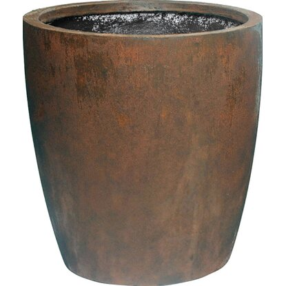M Collections Pflanztopf Egg Pot Hoch Ø 28 cm Rost