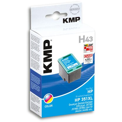 KMP Tintenpatrone H43 Color