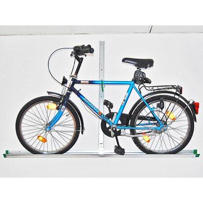 eufab fahrrad wandhalter mit schiene kaufen bei obi. Black Bedroom Furniture Sets. Home Design Ideas