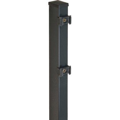 Extrem Pfosten für Doppelstabmattenzaun Anthrazit 120 cm kaufen bei OBI HU61
