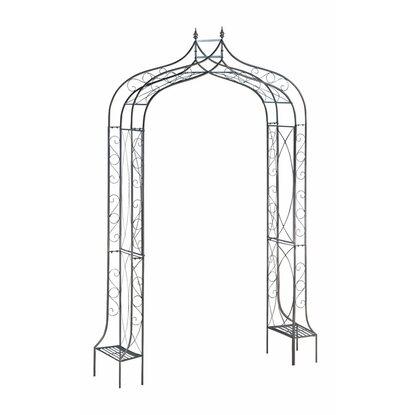 obi rosenbogen malone 239 cm anthrazit kaufen bei obi. Black Bedroom Furniture Sets. Home Design Ideas