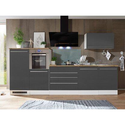 Küchenzeile 320 Cm : respekta premium k chenzeile 320 cm grau wei kaufen bei obi ~ Yasmunasinghe.com Haus und Dekorationen