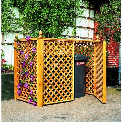 m lltonnenbox f r 2 tonnen impr gniert kaufen bei obi. Black Bedroom Furniture Sets. Home Design Ideas