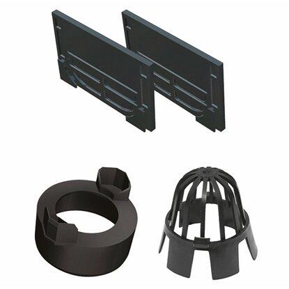 aco self hexaline 2 0 zubeh rset 4 teilig kaufen bei obi. Black Bedroom Furniture Sets. Home Design Ideas