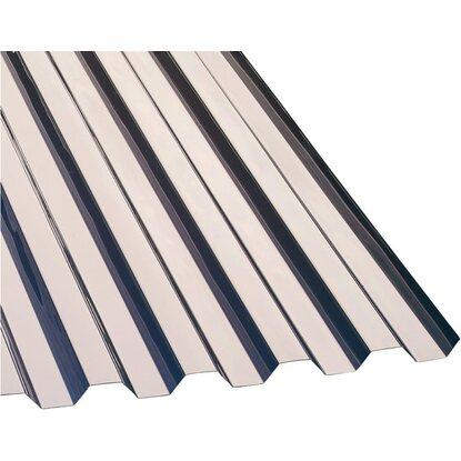 PVC Trapezplatte 08 Mm 70 18 Transparent 2000 X 1090