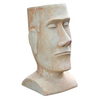 Silex Pflanzgefäß Kopf Terracotta 37 cm x 30 cm x 57 cm kaufen bei OBI