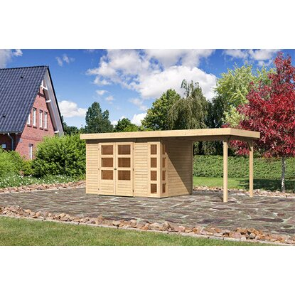 Karibu Gartenhaus Bornholm