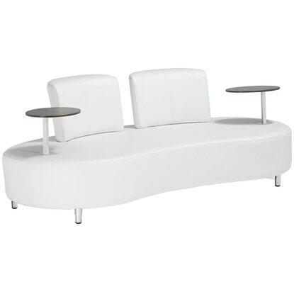 Garden Pleasure Sofa Aalborg mit 2 Tischen Weiß kaufen bei OBI