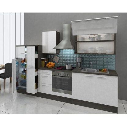 respekta premium k chenzeile rp310ewcgke 310 cm wei eiche grau nachbildung kaufen bei obi. Black Bedroom Furniture Sets. Home Design Ideas