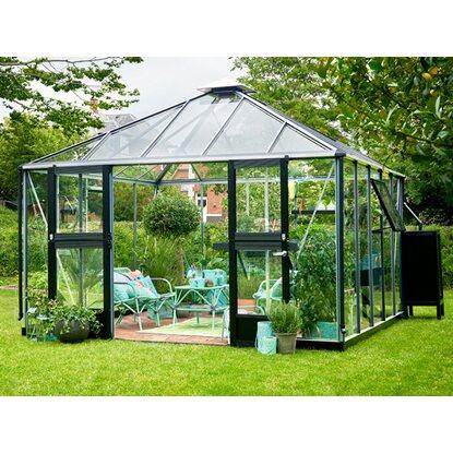 juliana gew chshaus oase 13 5 m alu kaufen bei obi. Black Bedroom Furniture Sets. Home Design Ideas