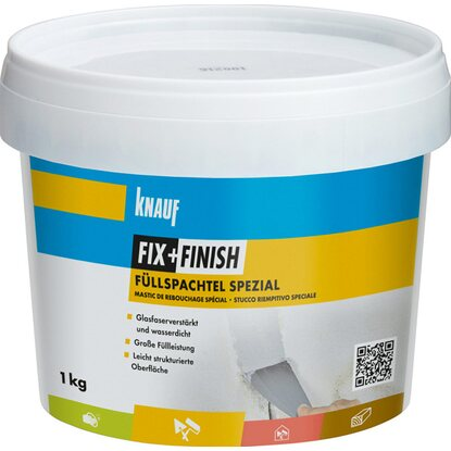 Knauf Fix + Finish Füllspachtel Spezial 1 kg