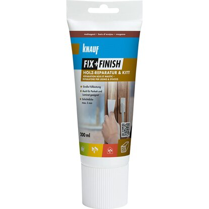 Knauf Fix + Finish Holz-Reparatur & Kitt Mahagoni 200 ml