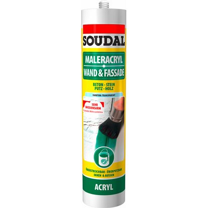 Soudal Maleracryl Transparent 300 ml