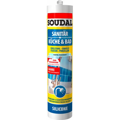 Soudal Küche & Bad Silikon Transparen 300 ml