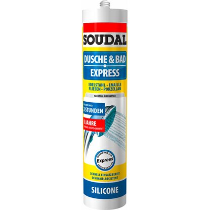 Soudal Dusche & Bad Express Silikon Manhattan 300 ml
