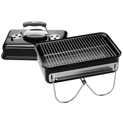 Weber Holzkohle-Grill Go-Anywhere Charcoal Schwarz