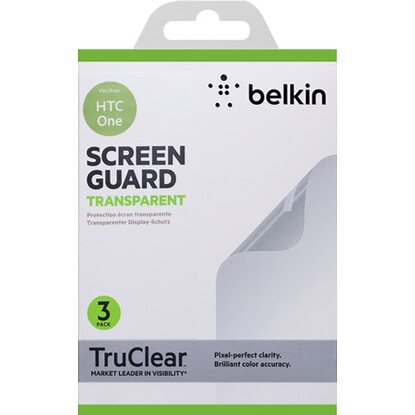Belkin Displayschutz für HTC One 3er Pack Transparent