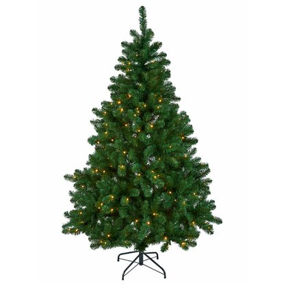 k nstlicher weihnachtsbaum 180 cm mit led beleuchtung. Black Bedroom Furniture Sets. Home Design Ideas