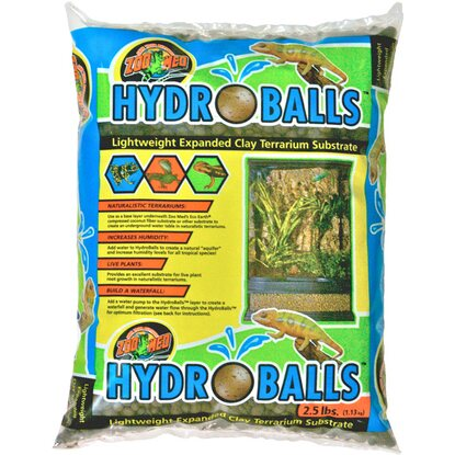 ZooMed HydroBalls Expanded Clay Substrat 1,13 kg