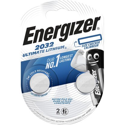 Energizer® Ultimate Lithium Knopfzelle CR2032 3 V 2 Stück