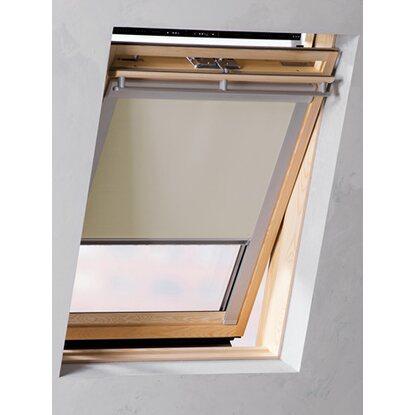 cocoon dachfensterrollo verdunklung creme 38 3 cm x 54 cm kaufen bei obi. Black Bedroom Furniture Sets. Home Design Ideas