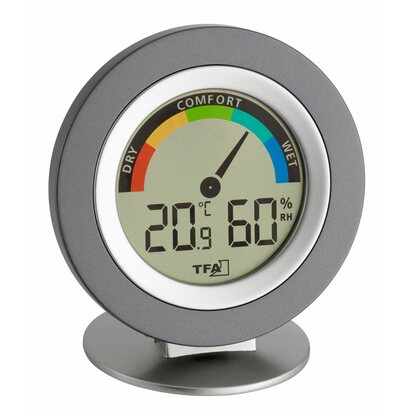 TFA Funk-Thermometer Pop Grau