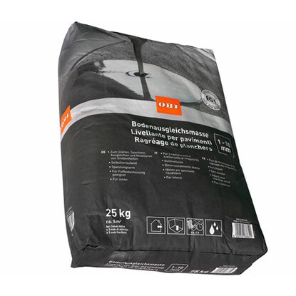 obi bodenausgleichsmasse 1 mm 10 mm grau 25 kg kaufen bei obi. Black Bedroom Furniture Sets. Home Design Ideas