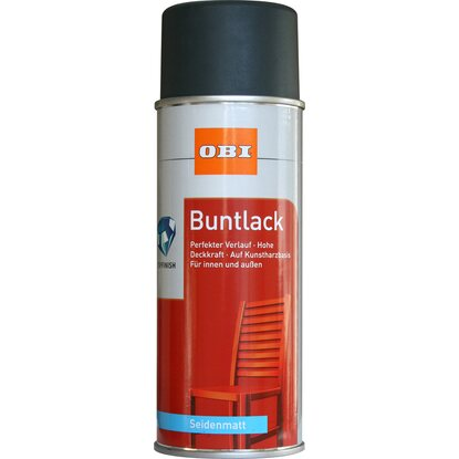 OBI Buntlack Spray Anthrazit seidenmatt 400 ml