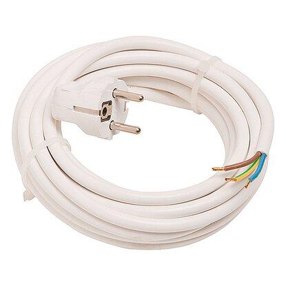 OBI Zuleitung mit Stecker 5 m Weiß