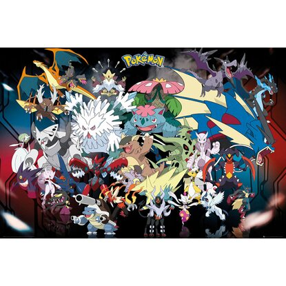 wandbild pokemon 90 cm x 60 cm kaufen bei obi