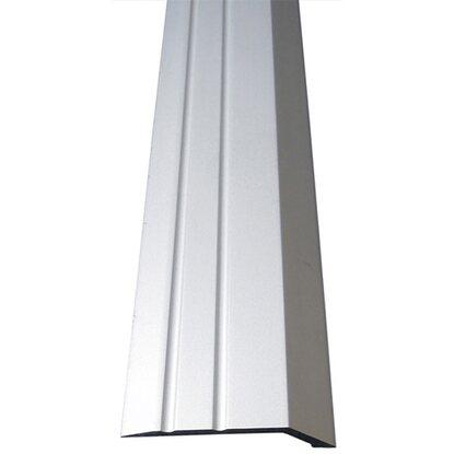 ausgleichsprofil selbstklebend 34 mm x 8 mm silber 1000 mm kaufen bei obi. Black Bedroom Furniture Sets. Home Design Ideas