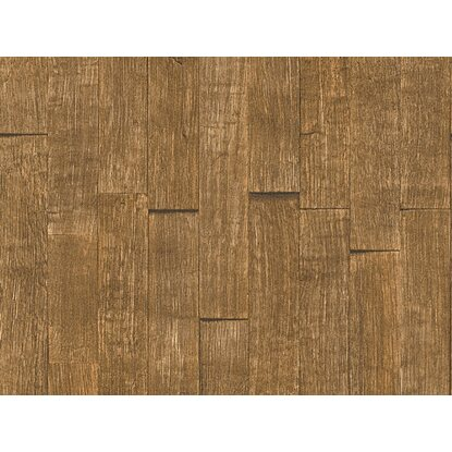 A.S. Création Vliestapete Best of Wood´n Stone Holzpaneele Braun